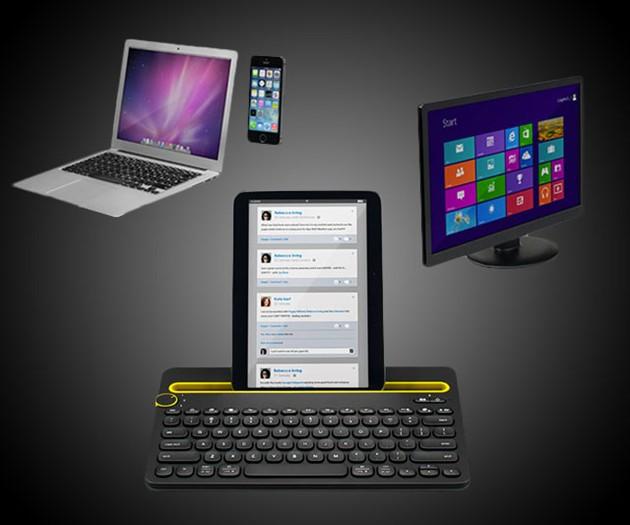 Bluetooth Multi-Device Keyboard