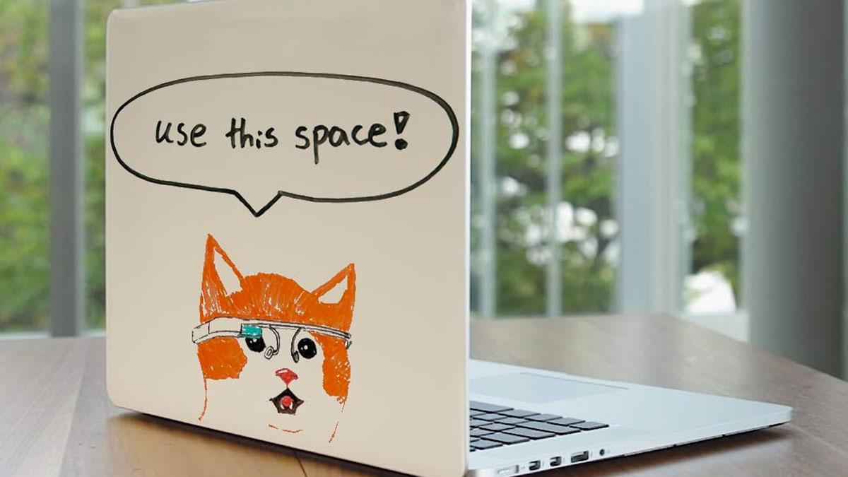 Sketchcase - Whiteboard Skin for Laptops