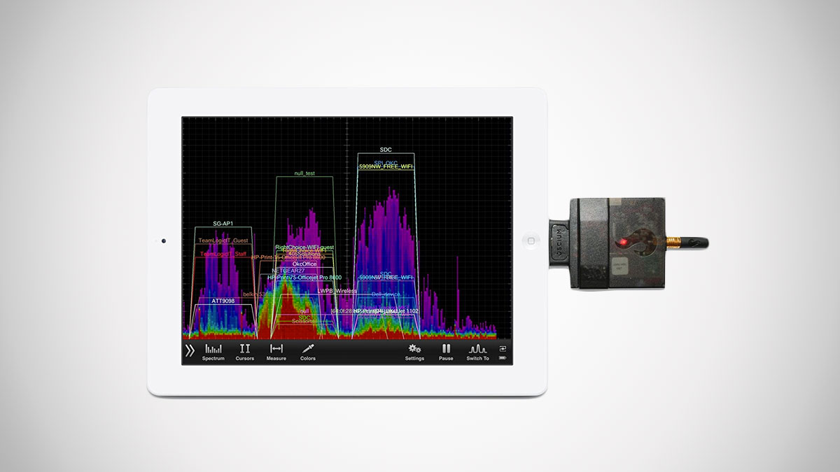 WiPry-Pro 2.4 GHz iOS Spectrum Analyzer