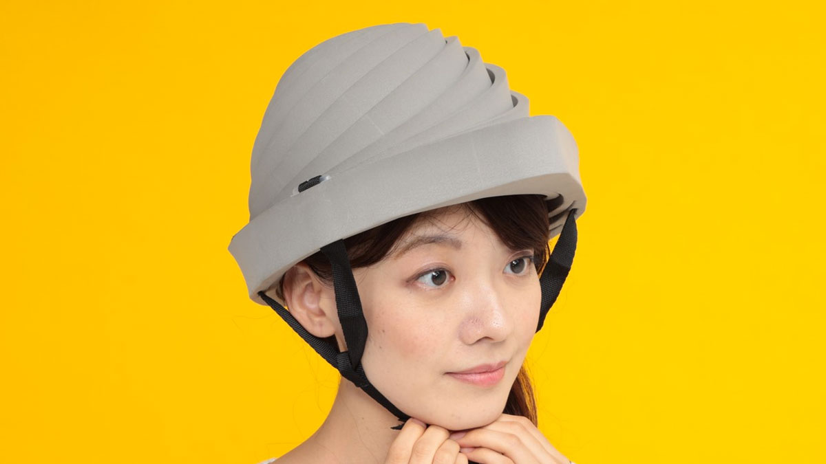 Derucap Collapsible Earthquake Helmet