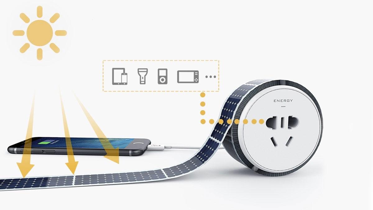 Energy Tape - Sticky Tape Solar Panels