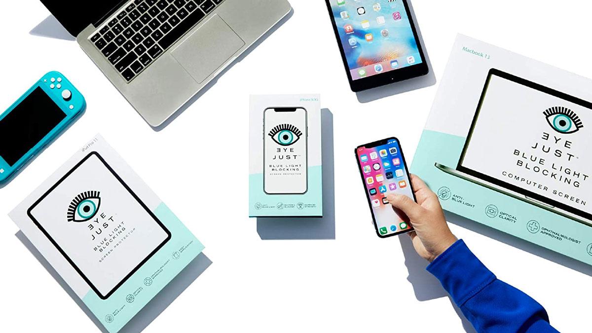 EyeJust Blue Light Blocking Screen Protectors