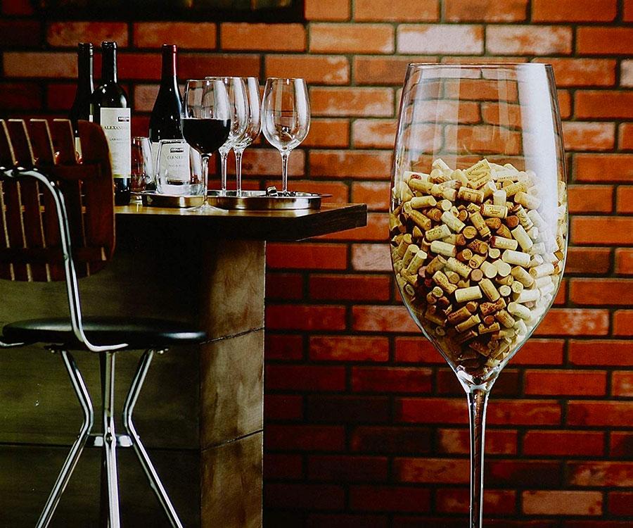 46 Quot Tall Wine Glass Dudeiwantthat Com