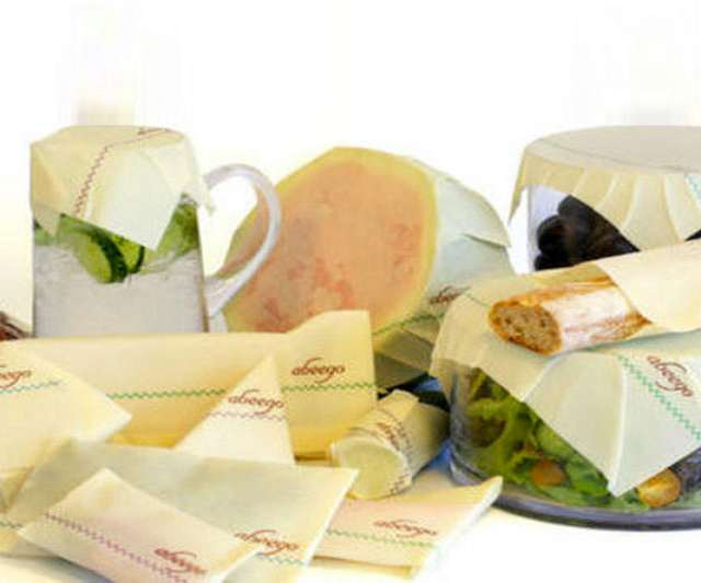 Abeego Beeswax Food Storage Wrap Dudeiwantthat Com