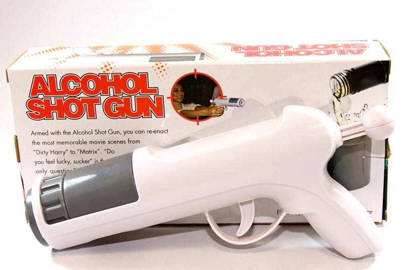 how to make an alcohol gun