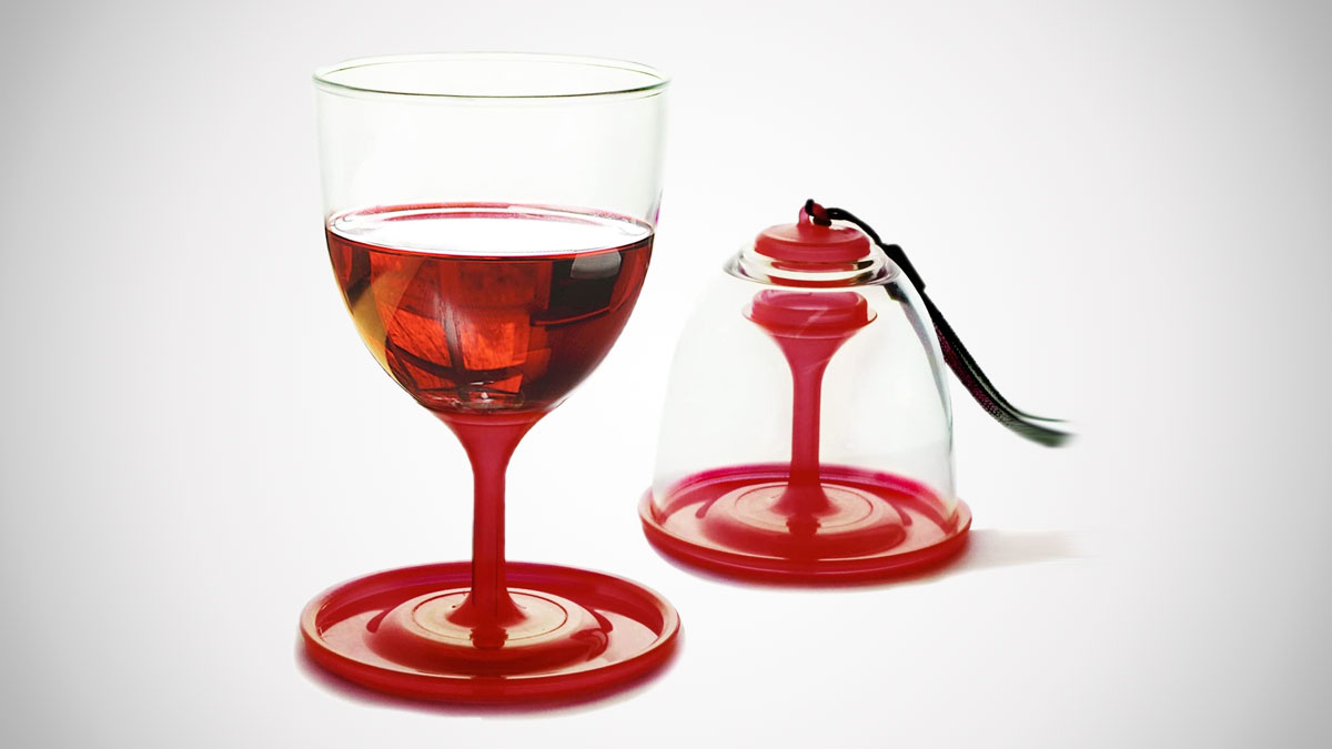 Asobu StackNGo Unbreakable Wine Glasses