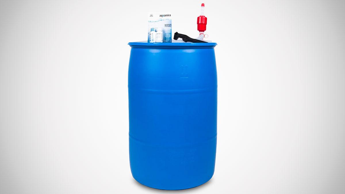 Augason Farms 55-Gallon Water Treatment & Storage Kit