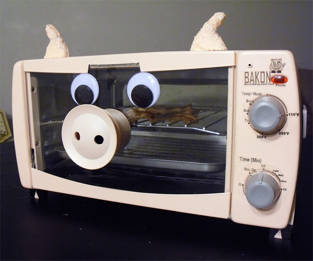 Bacon Makin' Alarm Clock