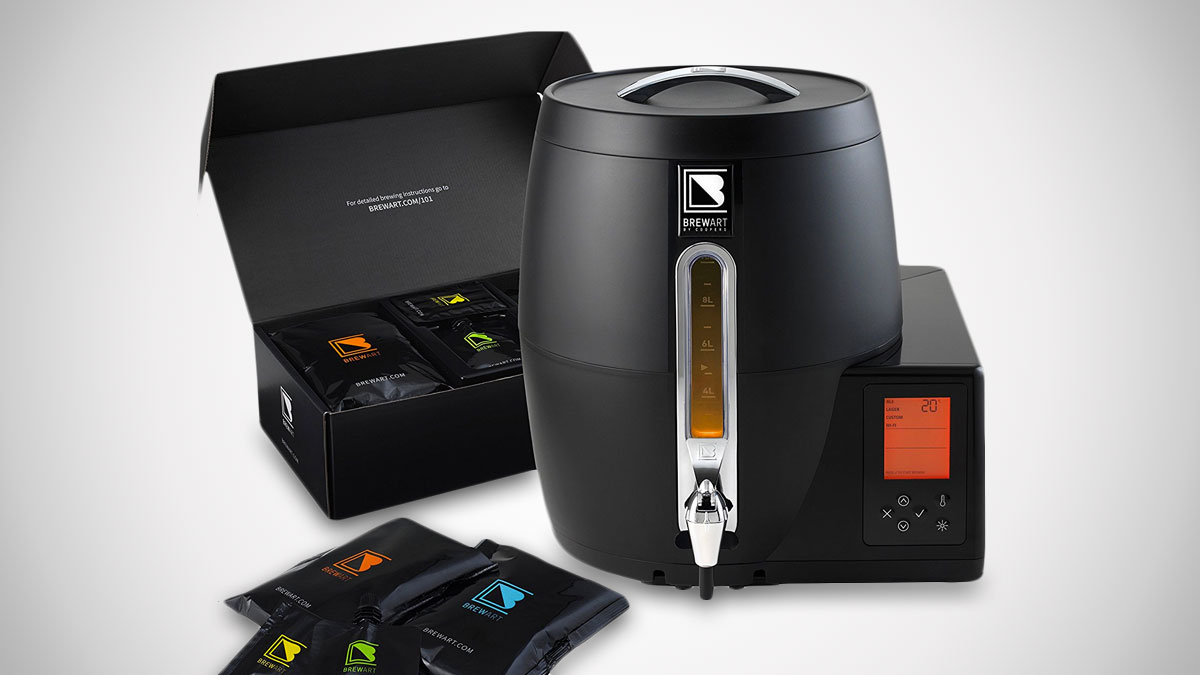 BeerDroid Fully Automated Beer Brewing System