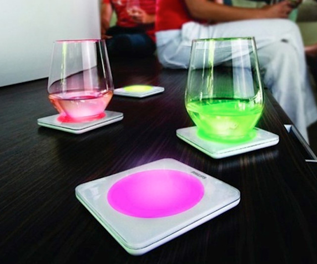 Color Changing Coasters