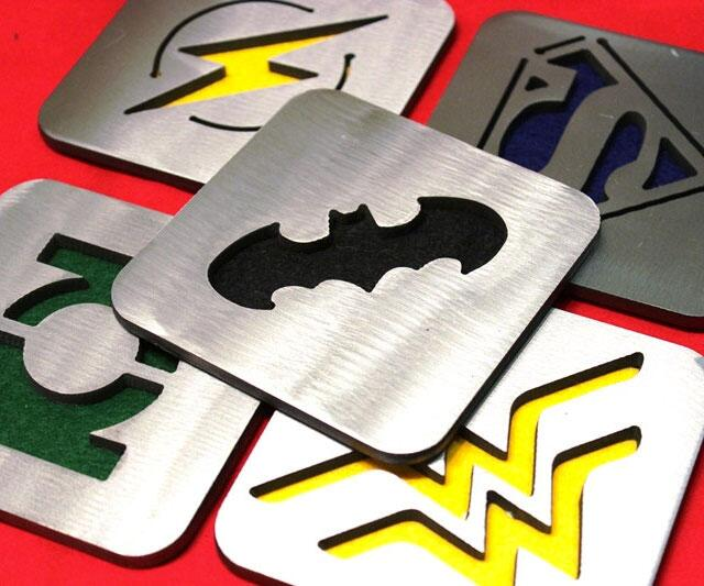 Comics coasters for Best coasters for sweaty drinks