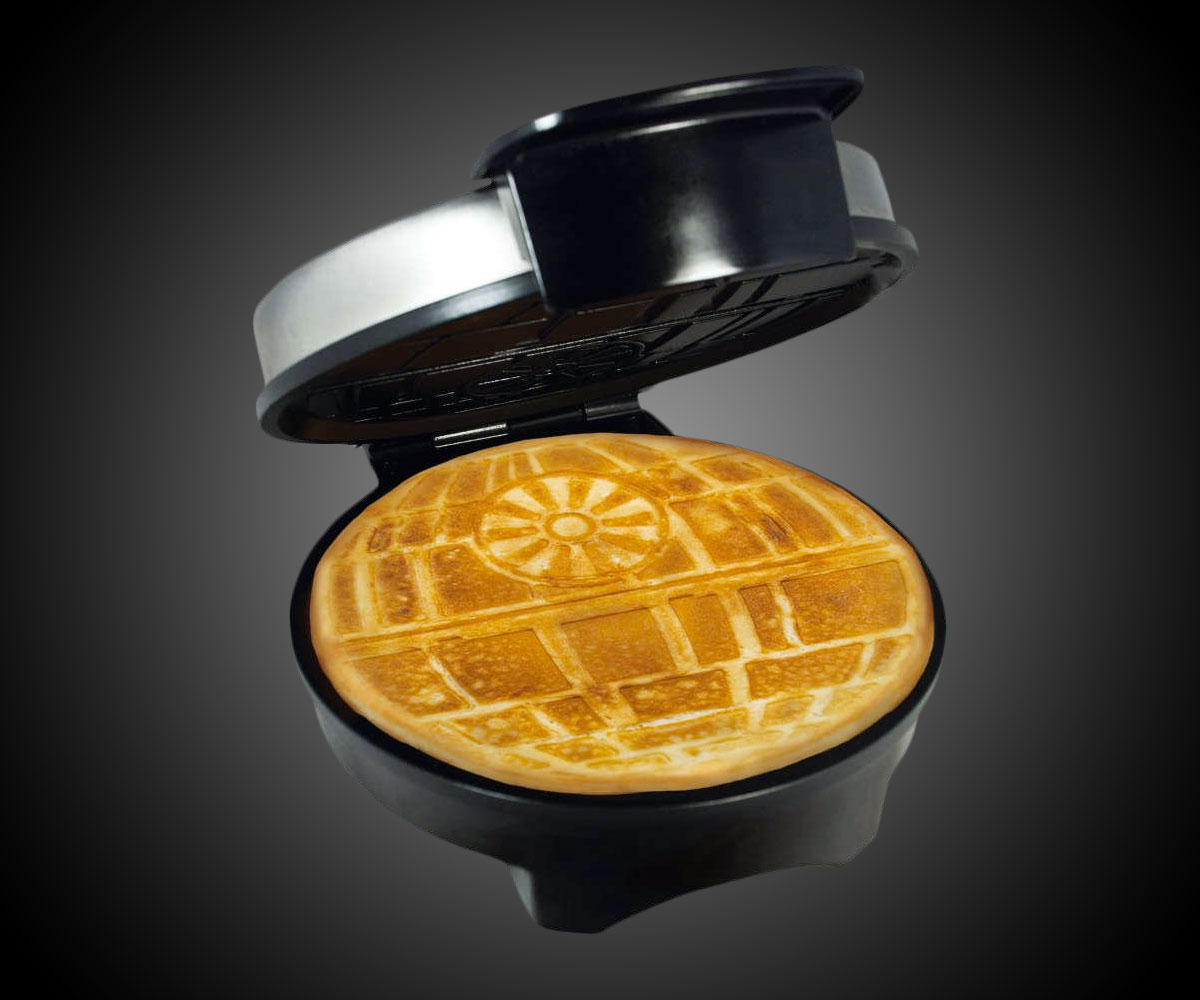 Death Star Waffle Iron Dudeiwantthat Com