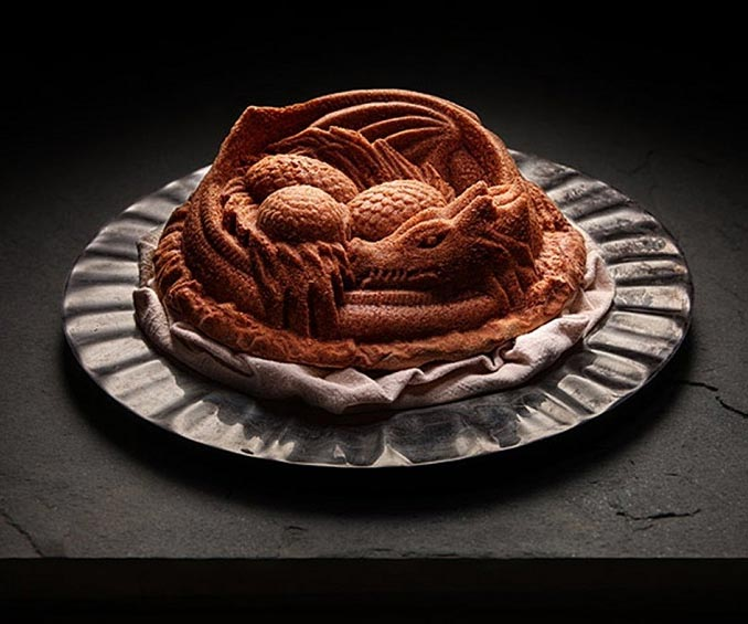 Sleeping Dragon Cake Pan