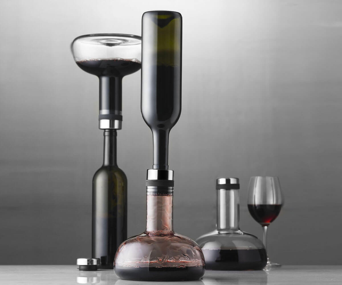 """""""Flip-It"""" Wine Aerating Carafe"""