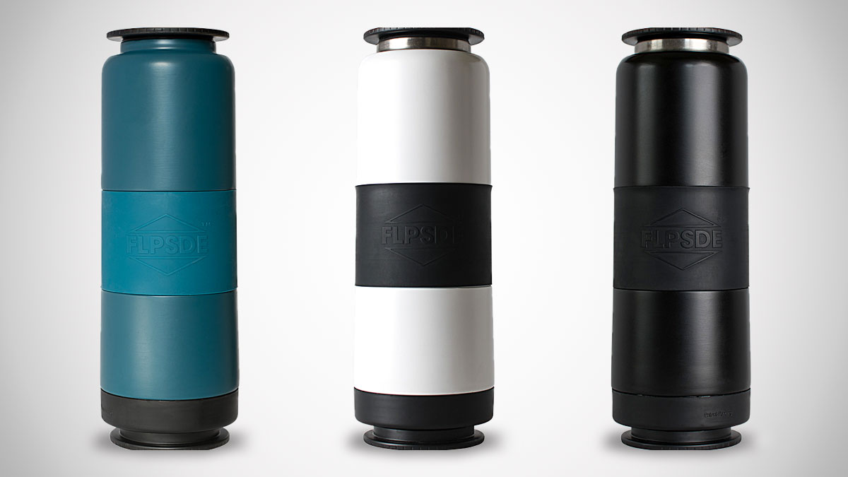 FLPSDE Dual-Chamber Water Bottle