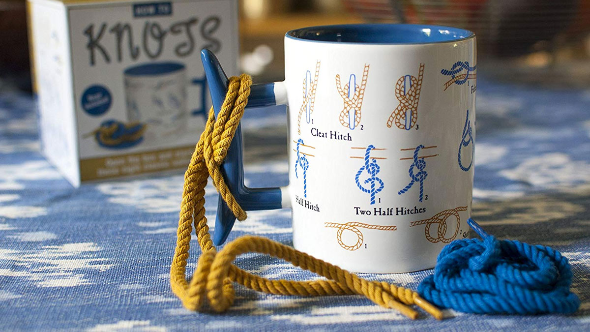 How To Tie Knots Coffee Mug Dudeiwantthat Com