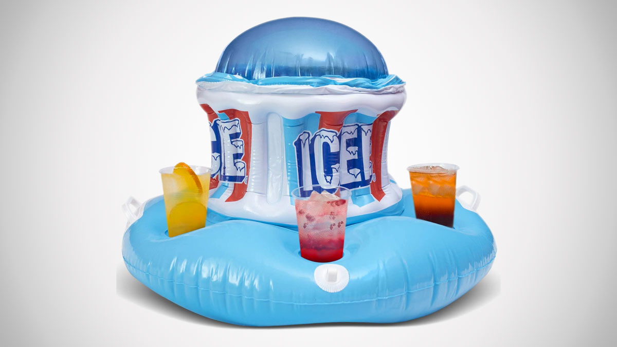 Icee Floating Inflatable Cooler