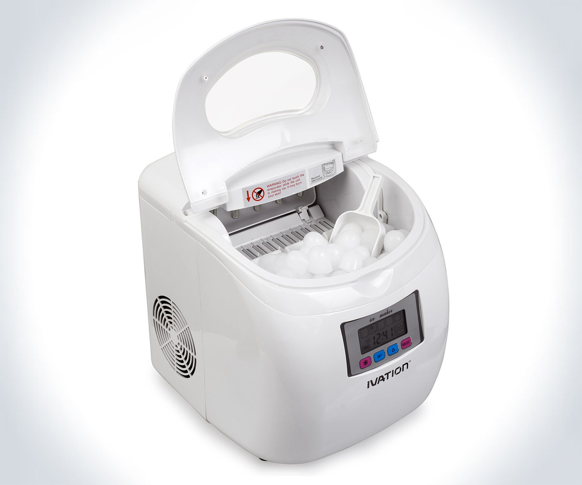 Portable Ice Maker DudeIWantThat.com