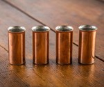 Pure Copper Old West Shot Glasses