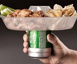 The Go Plate with Beer Can