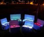 The LiddUp Illuminated Cooler