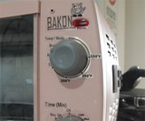 Bacon Makin' Alarm Clock - Controls Closeup