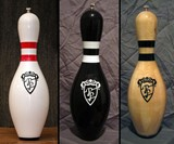 Bowling Pin Salt & Pepper Grinders
