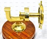 Brass Wheel Nutcracker