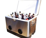 BREKX Party Cooler with Bluetooth Speakers