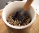 Cast Iron & Teak Coffee Scoop