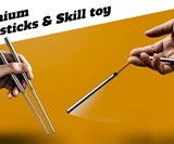 ChopChucks Skill Toy & Chopsticks