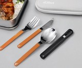 Cliffset - Portable Cutlery Set with Dishwasher