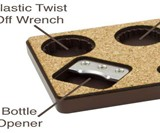 Coaster Werx Bottle Opener Coasters