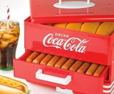 Coca-Cola Hot Dog Steamer & Bun Warmer