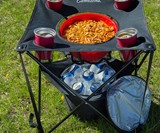 Collapsible Folding Camping Table with Insulated Cooler