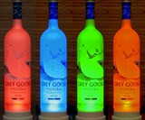 Color-Changing Bottle Lamps