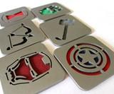 Comics Coasters