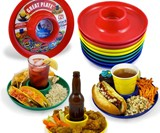Eat, Drink & Be Standing Plates