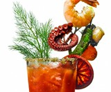 Epic Bloody Mary Tree Branch Garnish Pick