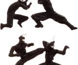 Fighting Ninja Birthday Candles