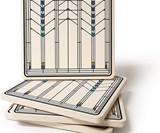 Frank Lloyd Wright Absorbent Stone Coasters