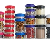 GoStak Twist n' Lock Storage Jars