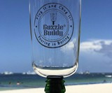Guzzle Buddy Beer Bottle Glass