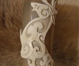Hand Carved Drinking Horns