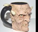 Handmade Creepy Beer Mugs