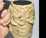 Handmade Creepy Beer Mugs