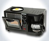 Hat Trick Breakfast Station with Toaster Oven, Egg Cooker & Coffee Pot