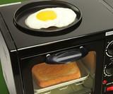 Hat Trick Breakfast Station Closeup