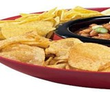 Heated Chip & Dip Tray