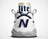 Miller Lite x New Balance Shoezie Beer Koozie
